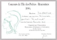 Concours de l'Île des Poètes 2004