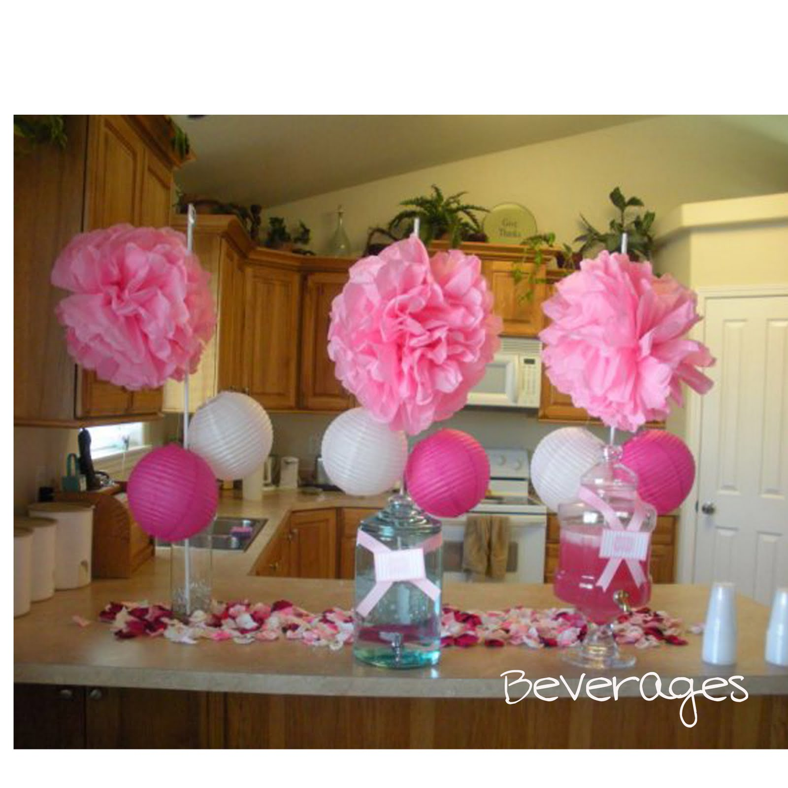 Baby shower vase centerpieces vases sale for Baby shower centerpiece decoration