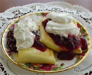 Cheese Blintz Yummy &amp; Healthy   Cheese Blintzes!