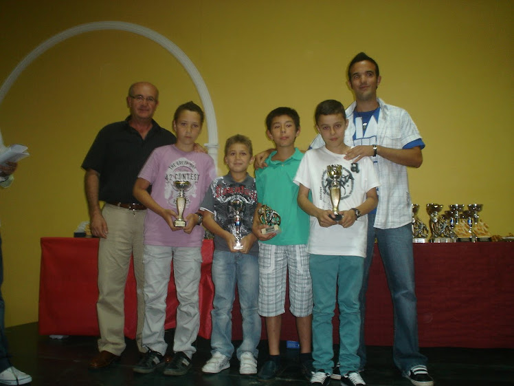 Ganadores trofeos temporada 2009/2010