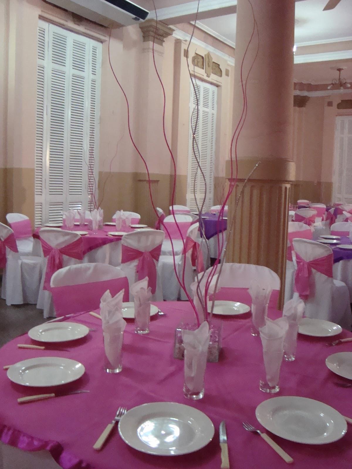 Viky recepciones decoraciones de 15 a os for Decoracion xv anos en jardin