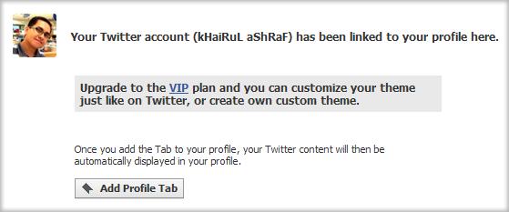 Twitter Tab