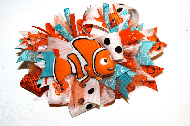 Finding Nemo Loopy Bow