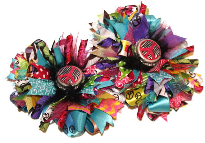 Pease, Love, Boutique Loopy Hair Bows!