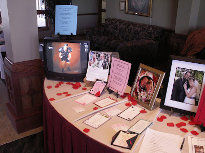 Lochland Country Club Bridal Expo Here are some shots from my booth at my
