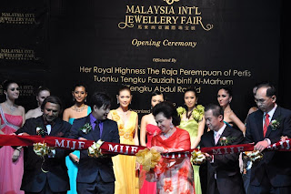 Opening ceremony of Jewellery Fair 2009