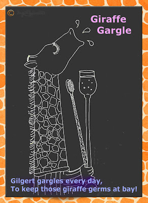 Giraffe Gargle - Raph's Ramblings by Ingrid Sylvestre UK artist & writer