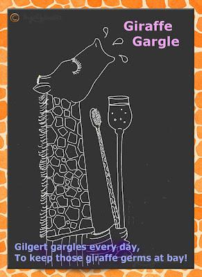 Giraffe Gargle - Raph's Ramblings by Ingrid Sylvestre UK artist & writer