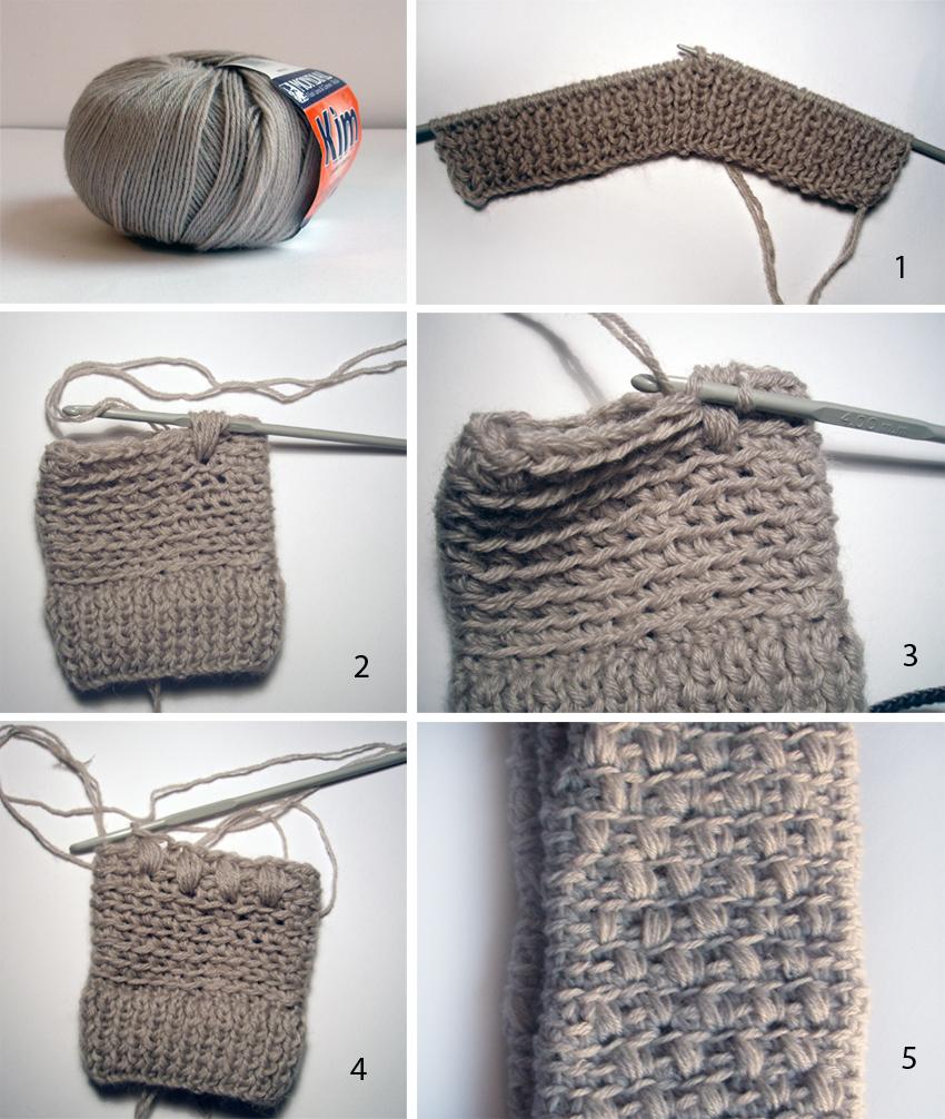 Único Los Patrones De Crochet Boucle Suave Bernat Cresta - Ideas de ...