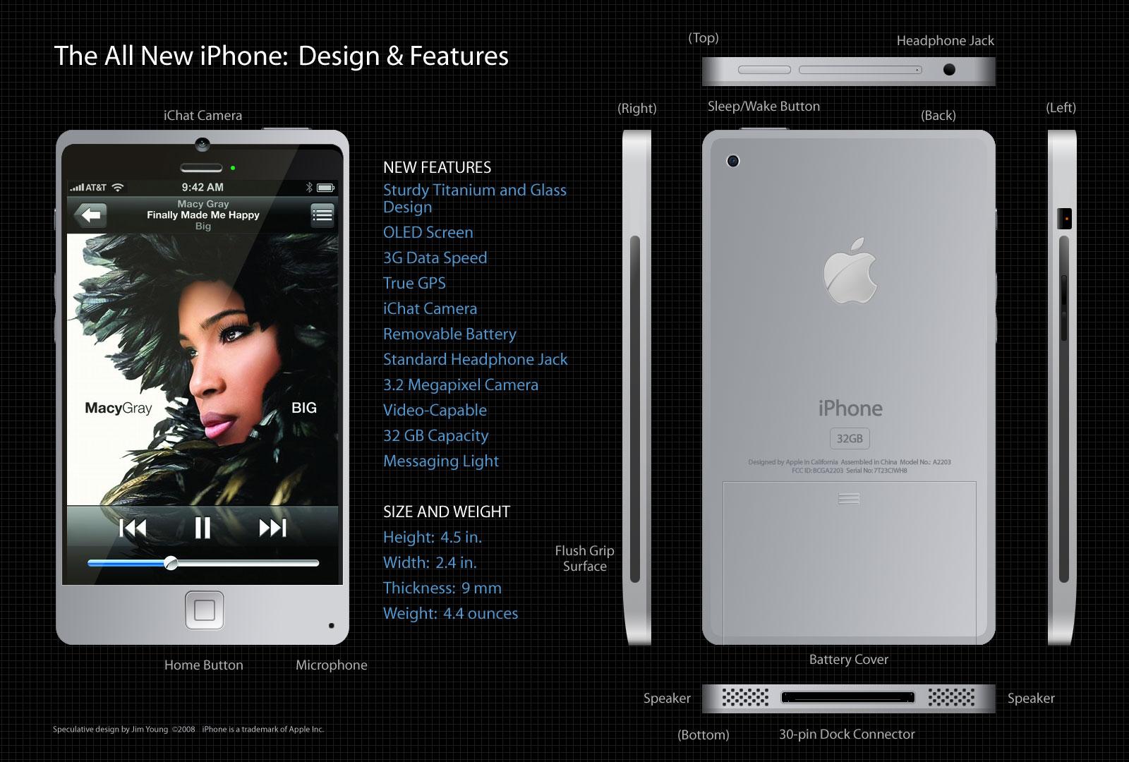 iPhone 4g.