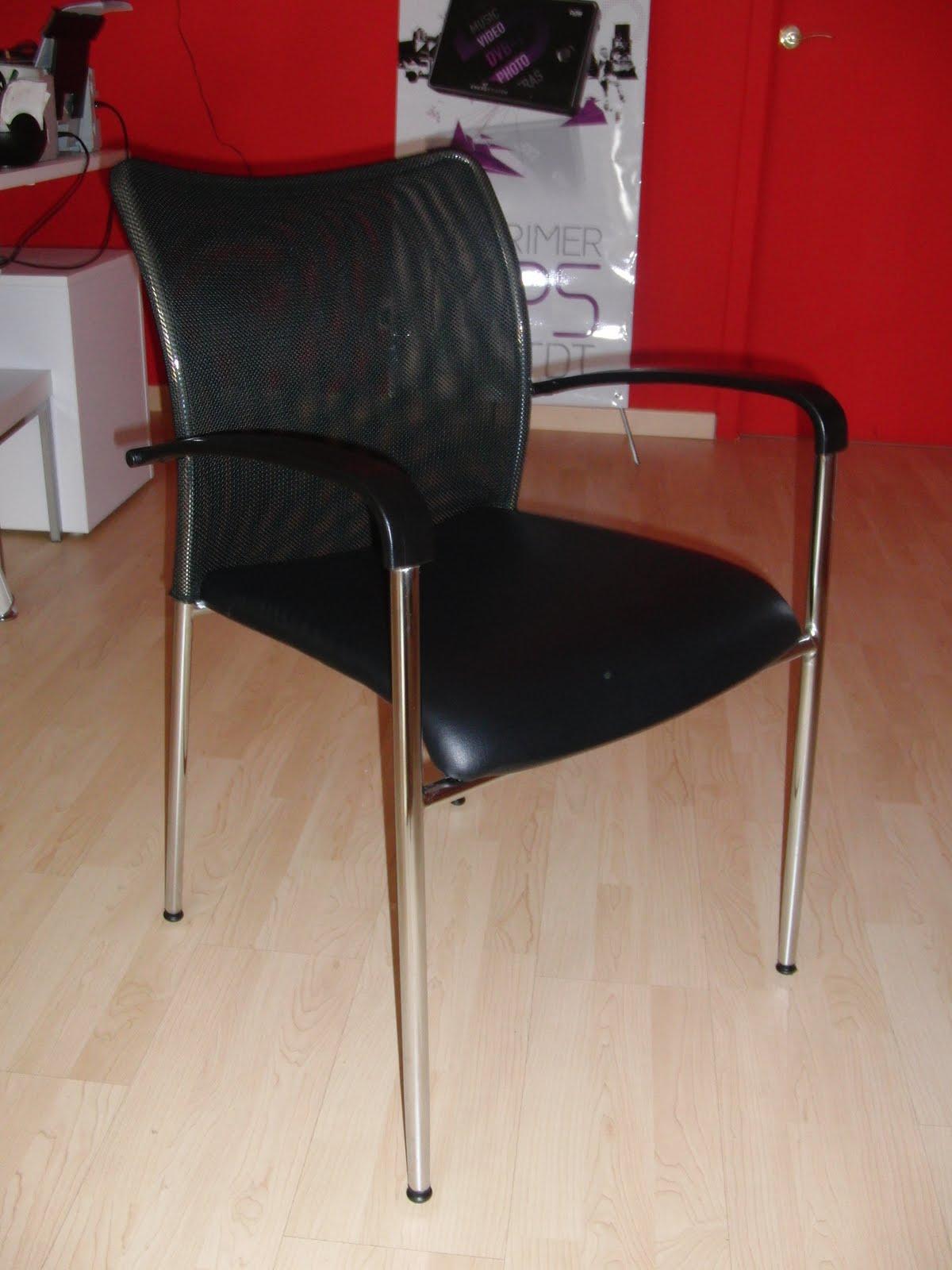 Outlet mobiliario sillas visitas para negocio for Sillas para visitas