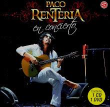 CD Y DVD EN CONCIERTO / PACO RENTERÍA