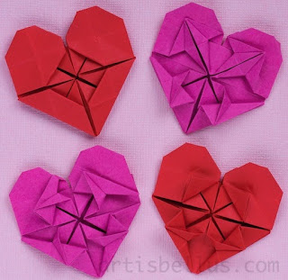 Valentine's Day Hearts - New Origami Models
