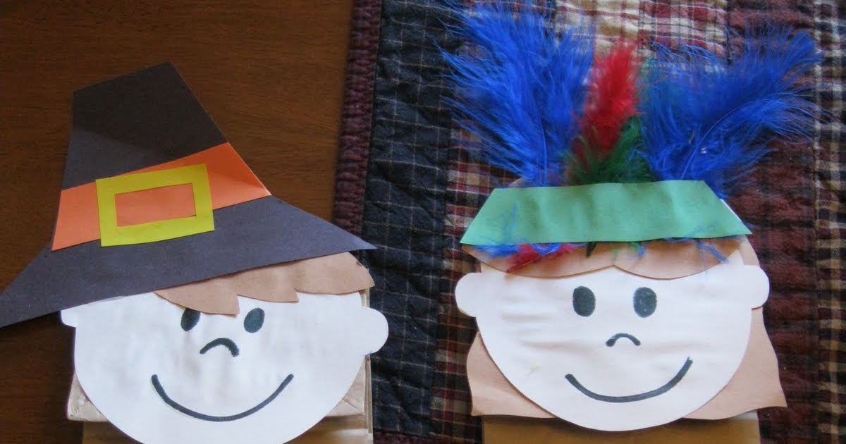 Preschool Crafts for Kids*: Thanksgiving Pilgrims and ...