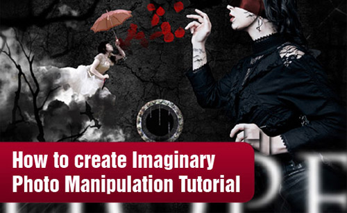 How to create Imaginary Photo Manipulation Photoshop tutorial