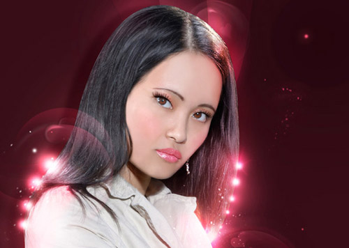 Give a Photo a Complete Glamour Makeover With Stunning Light and 3D Effects Photoshop tutorial
