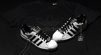 Adidas Diamond Studded Shoes