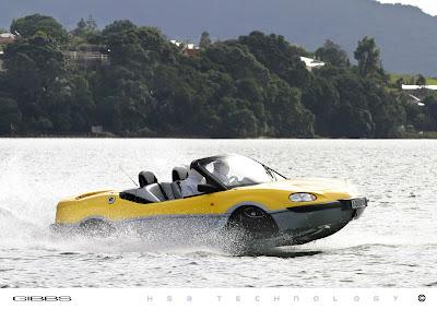 The Gibbs Aquada Amphibious Sportscar