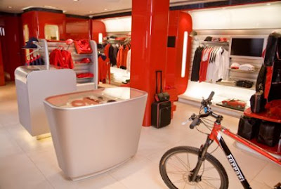 Ferrari Store in Britain