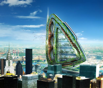 Dragonfly by Vincent Callebaut Architects