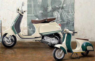 Fred Perry Vespa scooter