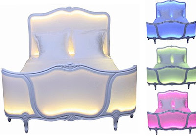 Philippe Boulet's  Illuminated Bed