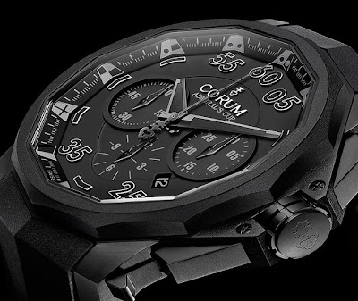 Corum Admiral's Cup Black Hull 48