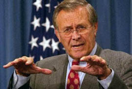 was donald rumsfeld robert mcnamara reborn It doesn't seem to matter how many people line up to take a whack at secretary of defense donald rumsfeld high donald rumsfeld, secretary of self-defense it doesn't seem to matter how many people line up to passing the vietnam era's robert mcnamara rumsfeld has defied repeated.