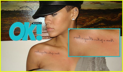 rihanna tattoo pictures. rihanna tattoos meanings.