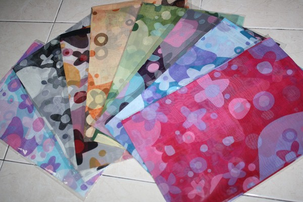 SPECIAL DESIGN CHIFFON SHAWL (SOLD OUT)