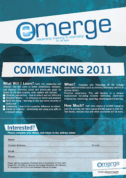 Emerge - expressions of interest invited
