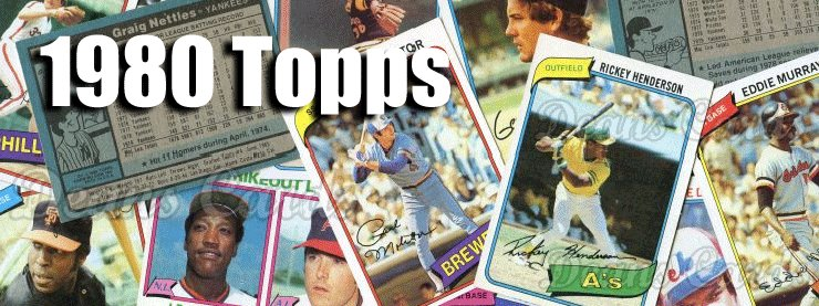 1980 Topps Baseball