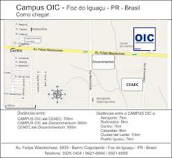 Mapa da OIC