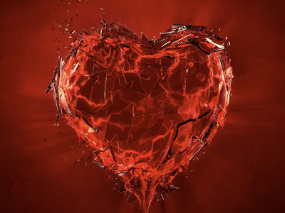 Red Love Wallpaper - Red heart cards, Red color Love cards