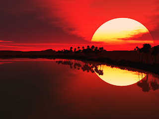 Gambar Wallpaper Natural Sunset