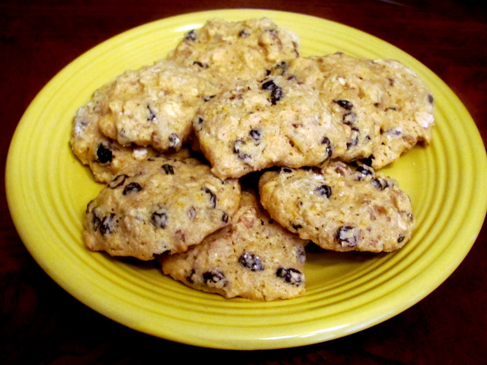 The Health Seekers Kitchen: Orange Ginger Cookies