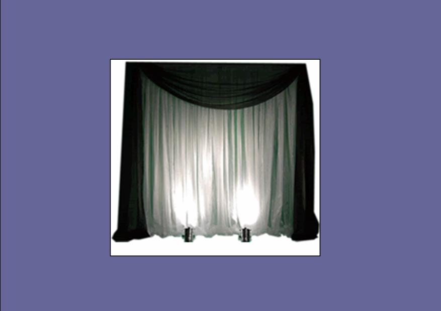 Wedding draping kits