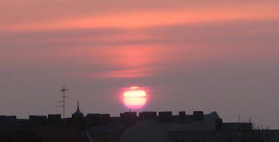 Rixdorfer Sonnenaufgang