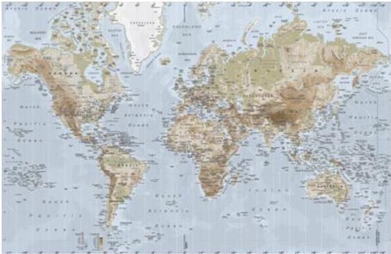 ikea verdenskort brugt