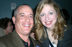 Pictured with Chelsea Clinton