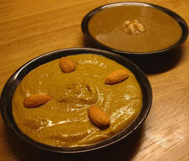 libyan food  bseisa and howira  u0628 u0633 u064a u0633 u0629  u0648  u062d u0648 u064a u0631 u0629