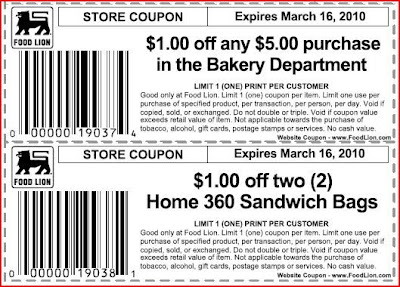 food lion coupons