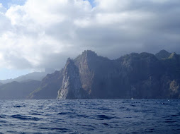 some of the spires of the Marquessa Islands