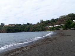 Black beaches of Tahiti