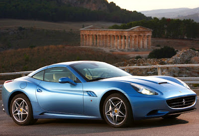 Ferrari California Blue High Ride