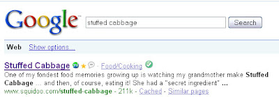 stuffed cabbage google search