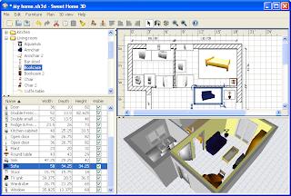 Desain Interior Dengan Sweet Home 3D