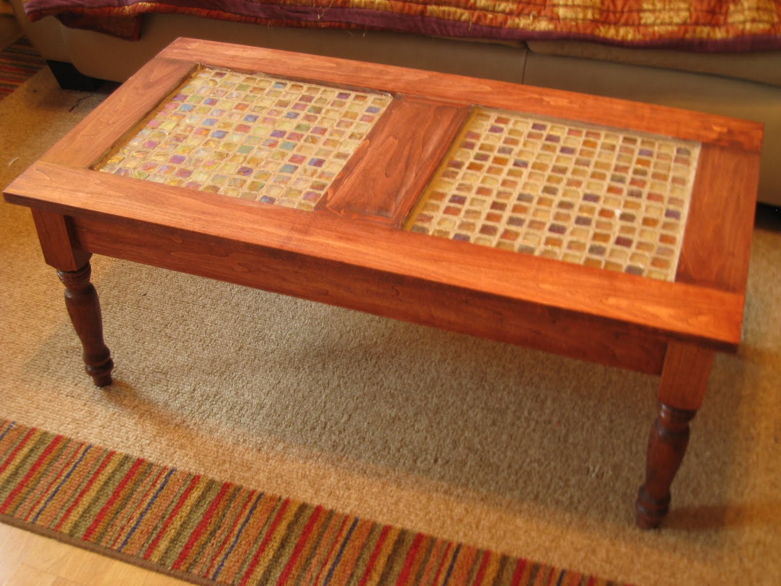 John I Designs Tiled Coffee Table