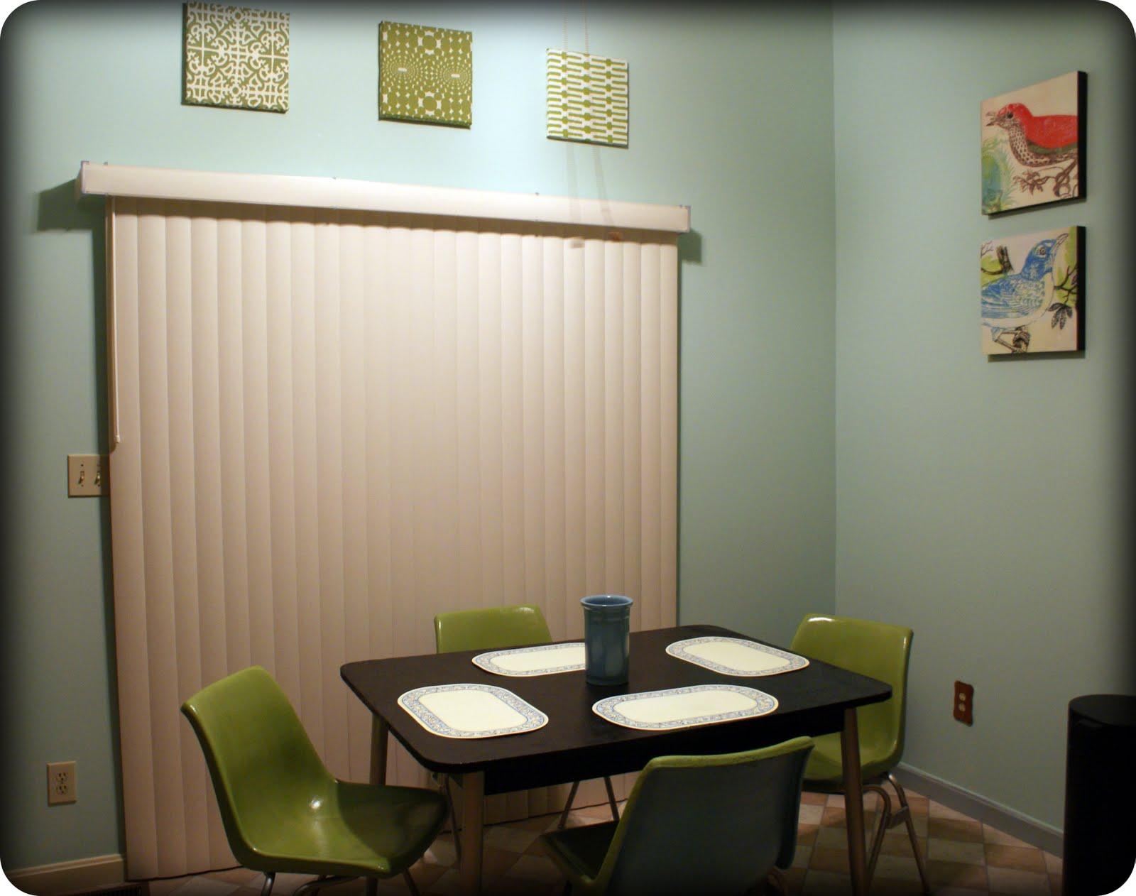 Fabric Wall Kitchen : Fabric wall art diy my retro kitchen