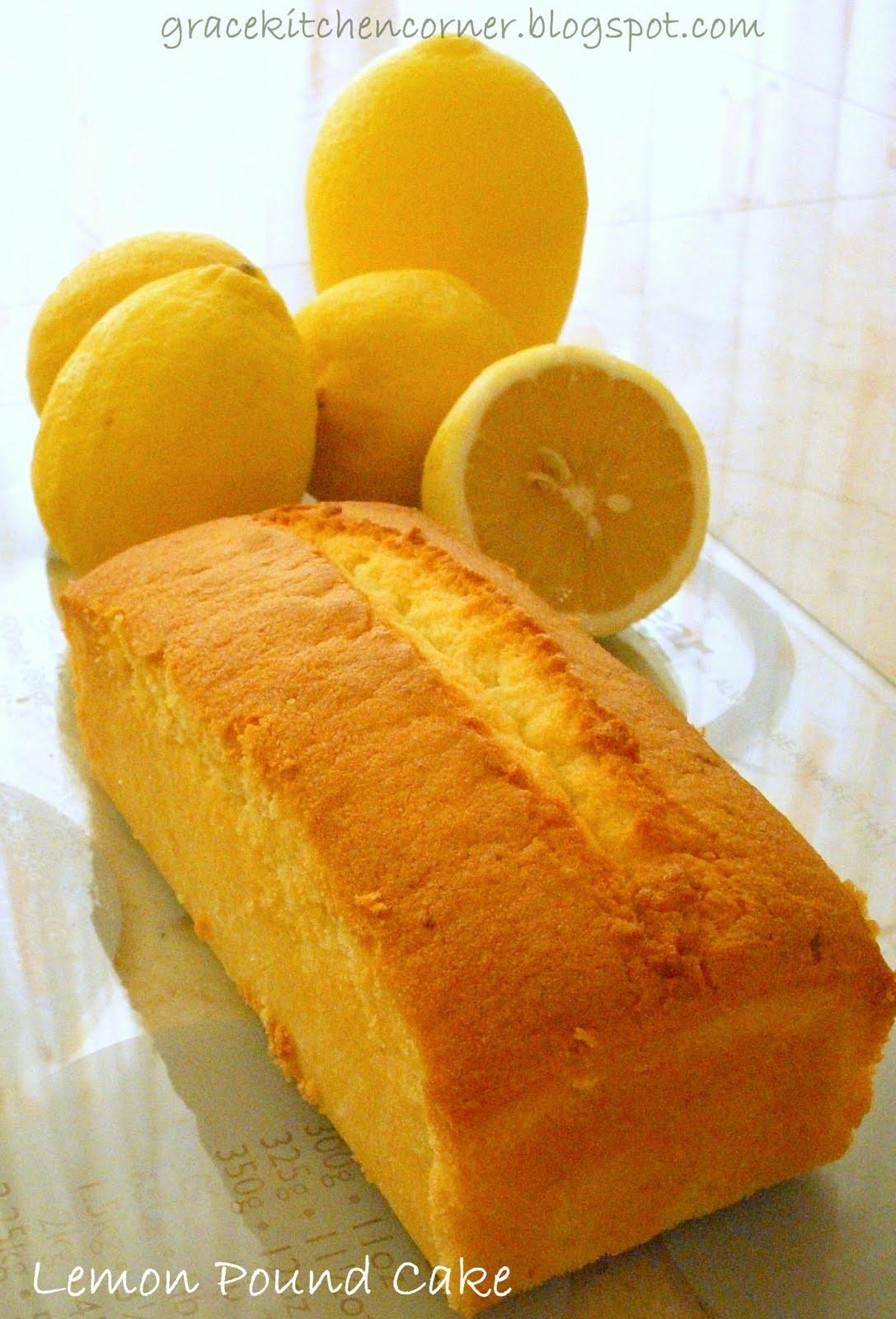 Kitchen corner lemon pound cake april 7 2010 forumfinder Choice Image
